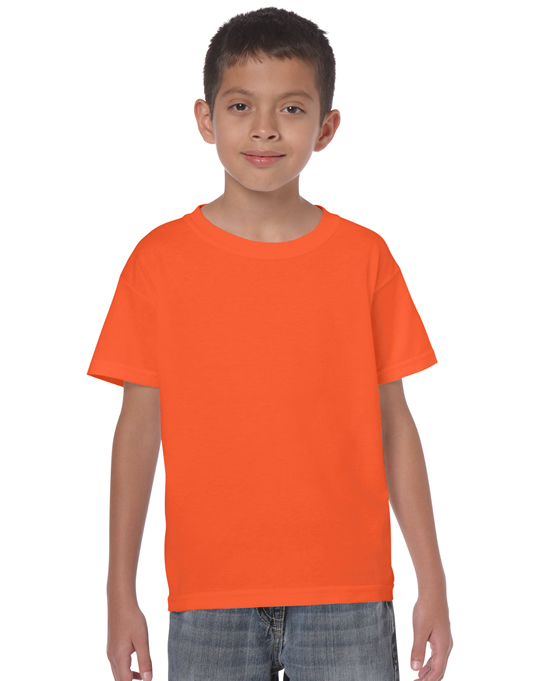 Koszulka Heavy Cotton Youth GILDAN B5000 - Gildan_B5000_23 - Kolor: Orange