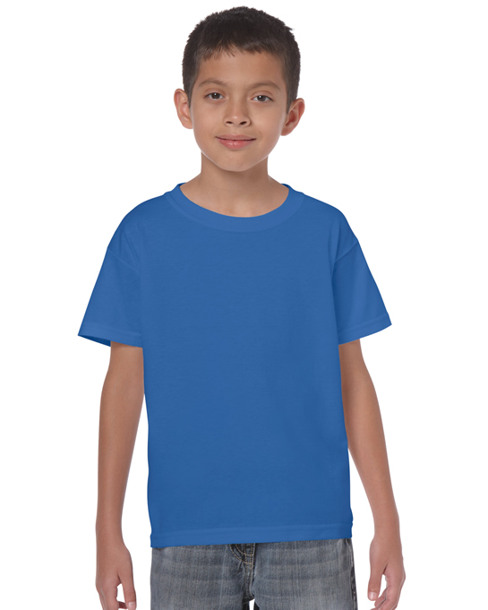 Koszulka Heavy Cotton Youth GILDAN B5000 - Gildan_B5000_26 - Kolor: Royal blue