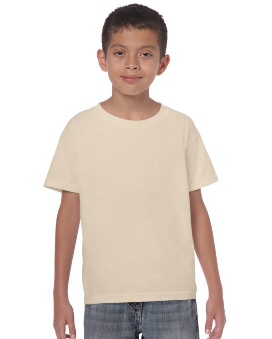 Koszulka Heavy Cotton Youth GILDAN B5000 - Gildan_B5000_27 - Kolor: Sand