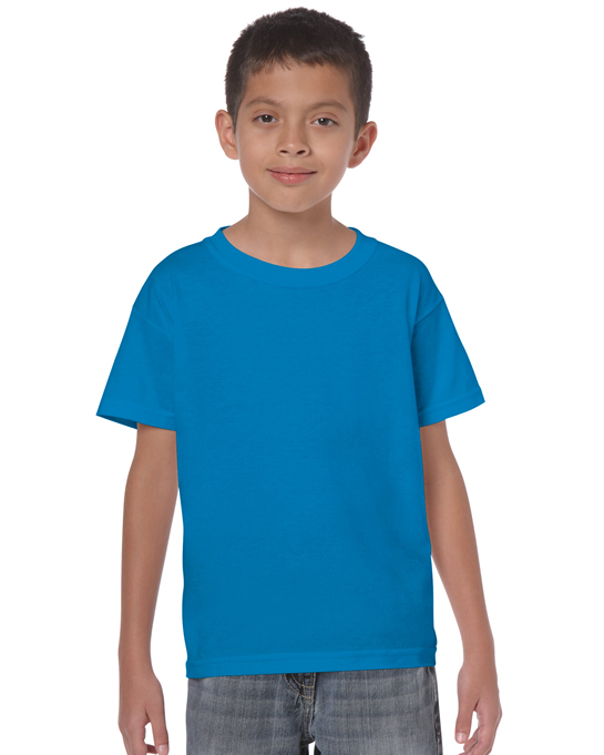 Koszulka Heavy Cotton Youth GILDAN B5000 - Gildan_B5000_28 - Kolor: Sapphire