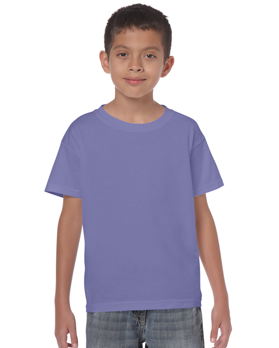 Koszulka Heavy Cotton Youth GILDAN B5000 - Gildan_B5000_31 - Kolor: Violet