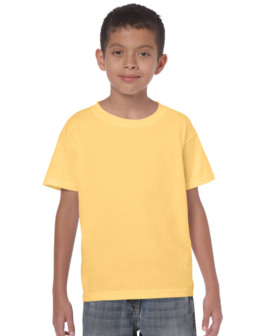 Koszulka Heavy Cotton Youth GILDAN B5000 - Gildan_B5000_33 - Kolor: Yellow haze