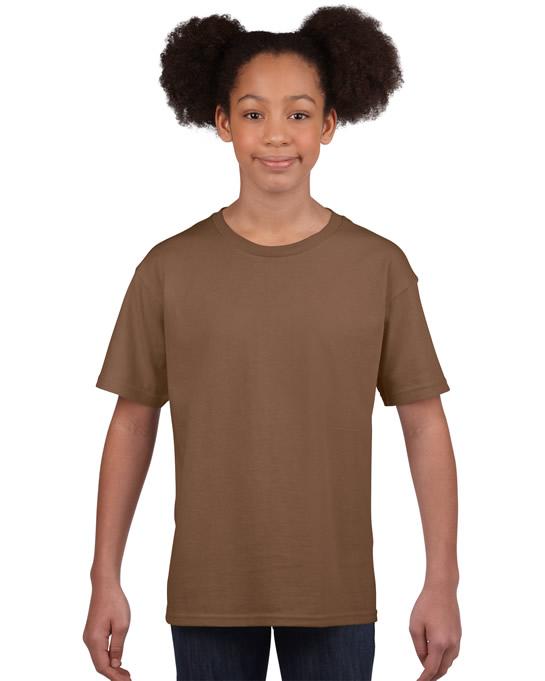 Koszulka Softstyle Youth GILDAN B64000 - Gildan_B64000_04 - Kolor: Chestnut