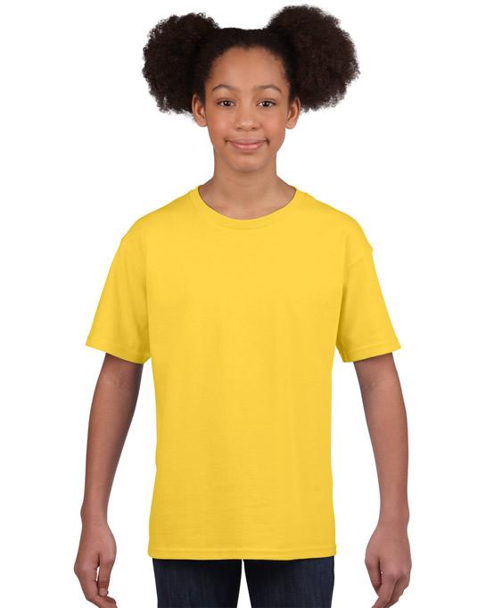 Koszulka Softstyle Youth GILDAN B64000 - Gildan_B64000_01 - Kolor: Daisy