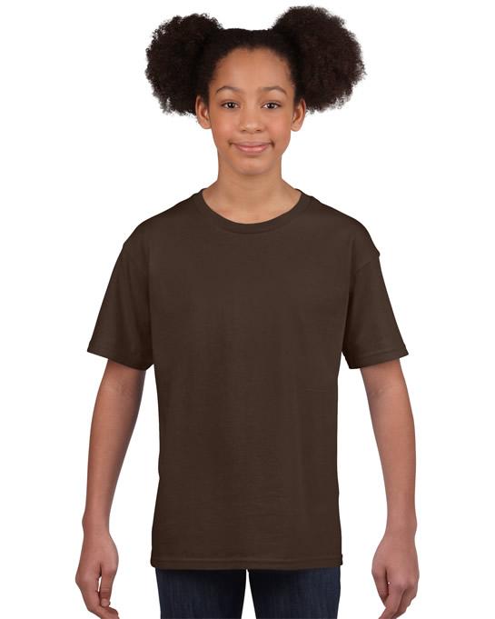 Koszulka Softstyle Youth GILDAN B64000 - Gildan_B64000_05 - Kolor: Dark chocolate