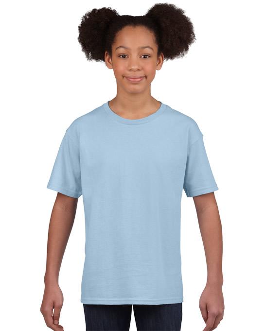 Koszulka Softstyle Youth GILDAN B64000 - Gildan_B64000_09 - Kolor: Light blue