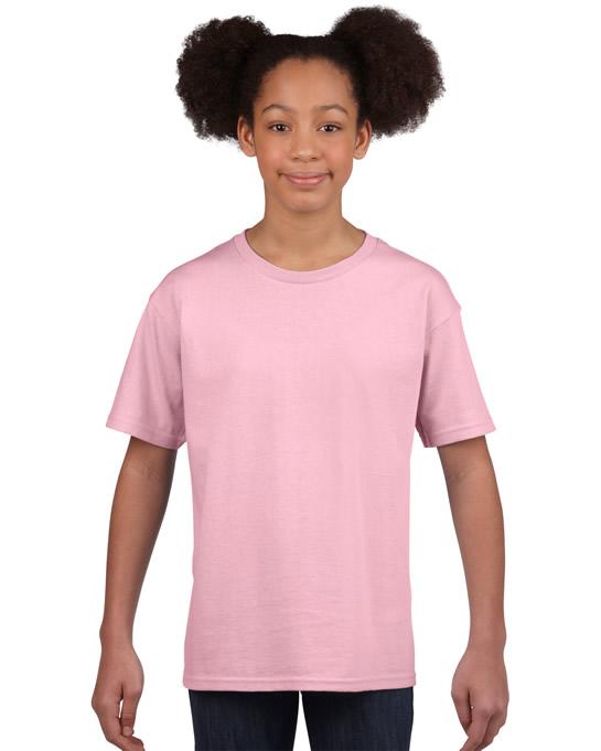 Koszulka Softstyle Youth GILDAN B64000 - Gildan_B64000_10 - Kolor: Light pink