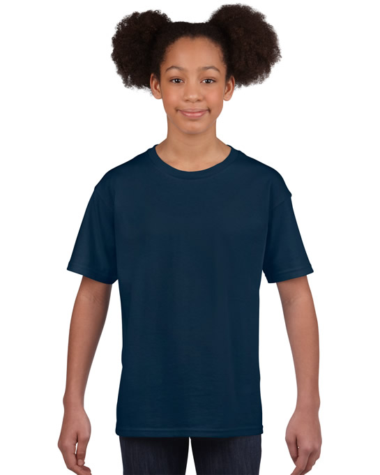 Koszulka Softstyle Youth GILDAN B64000 - Gildan_B64000_11 - Kolor: Navy