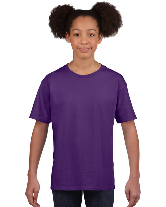 Koszulka Softstyle Youth GILDAN B64000 - Gildan_B64000_13 - Kolor: Purple