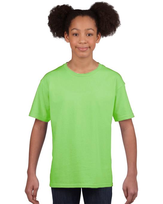 Koszulka Softstyle Youth GILDAN B64000 - Gildan_B64000_18 - Kolor: Mint
