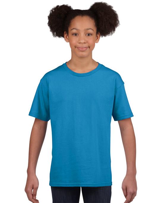 Koszulka Softstyle Youth GILDAN B64000 - Gildan_B64000_21 - Kolor: Sapphire