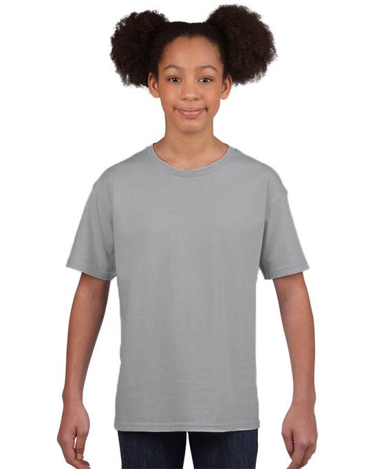 Koszulka Softstyle Youth GILDAN B64000 - Gildan_B64000_23 - Kolor: Sport grey