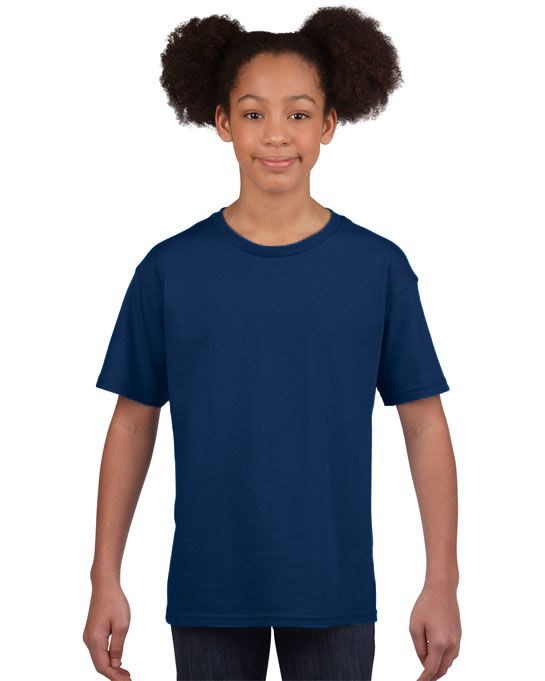 Koszulka Softstyle Youth GILDAN B64000 - Gildan_B64000_22 - Kolor: Cobalt