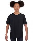 Koszulka Softstyle Youth GILDAN B64000 - Gildan_B64000_02 Black