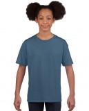 Koszulka Softstyle Youth GILDAN B64000 - Gildan_B64000_06 Indigo blue