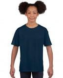 Koszulka Softstyle Youth GILDAN B64000 - Gildan_B64000_11 Navy