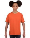 Koszulka Softstyle Youth GILDAN B64000 - Gildan_B64000_12 Orange