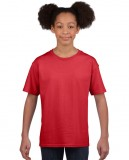 Koszulka Softstyle Youth GILDAN B64000 - Gildan_B64000_14 Red