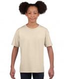 Koszulka Softstyle Youth GILDAN B64000 - Gildan_B64000_16 Sand