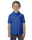 Koszulka Polo DryBlend Double Pique Youth GILDAN B72800 - Gildan_B72800_09 Royal blue