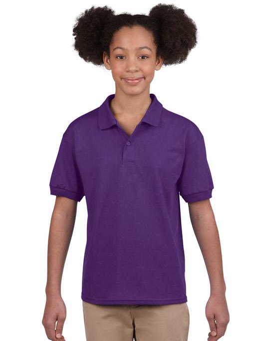 Koszulka Polo DryBlend Jersey Youth GILDAN B8800 - Gildan_B8800_03 - Kolor: Purple