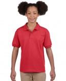 Koszulka Polo DryBlend Jersey Youth GILDAN B8800 - Gildan_B8800_04 Red