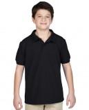 Koszulka Polo DryBlend Pique Youth GILDAN B94800 - Gildan_B94800_02 Black
