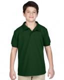 Koszulka Polo DryBlend Pique Youth GILDAN B94800 - Gildan_B94800_05 Forest green