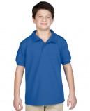 Koszulka Polo DryBlend Pique Youth GILDAN B94800 - Gildan_B94800_09 Royal blue