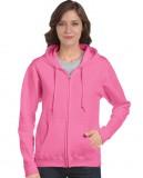 Bluza Heavy Blend Full Zip Hooded Ladies GILDAN L18600 - Gildan_L18600_01 Azalea