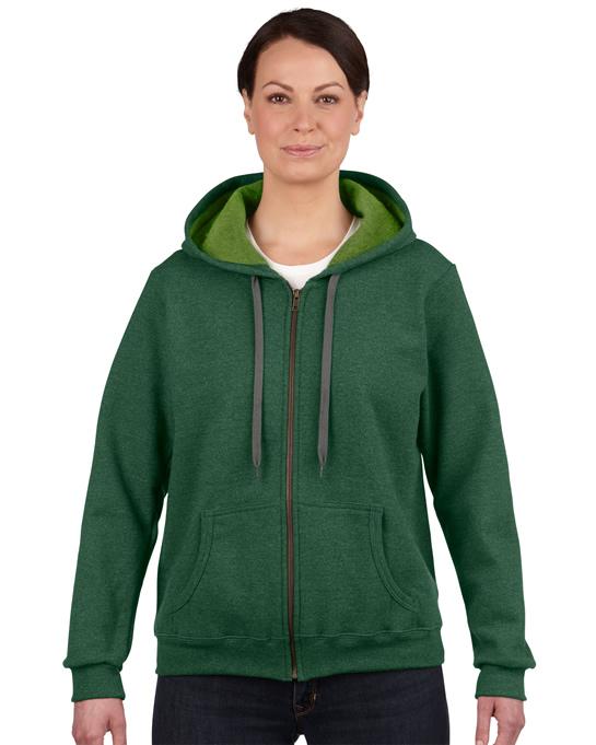 Bluza Heavy Blent Vintage Classic Full Zip Ladies GILDAN L18700 - Gildan_L18700_03 - Kolor: Meadow