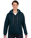 Bluza Heavy Blent Vintage Classic Full Zip Ladies GILDAN L18700 - Gildan_L18700_04 Midnight