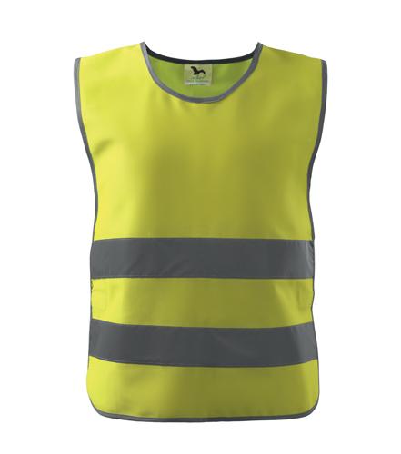 Kamizelka Kid A 906 CHILD SAFETY VEST - 906_97_A - Kolor: Żółty odblaskowy