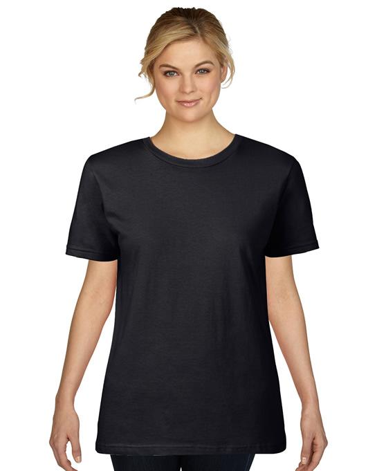 Koszulka Premium Cotton Ladies GILDAN L4100 - Gildan_L4100_03 - Kolor: Black