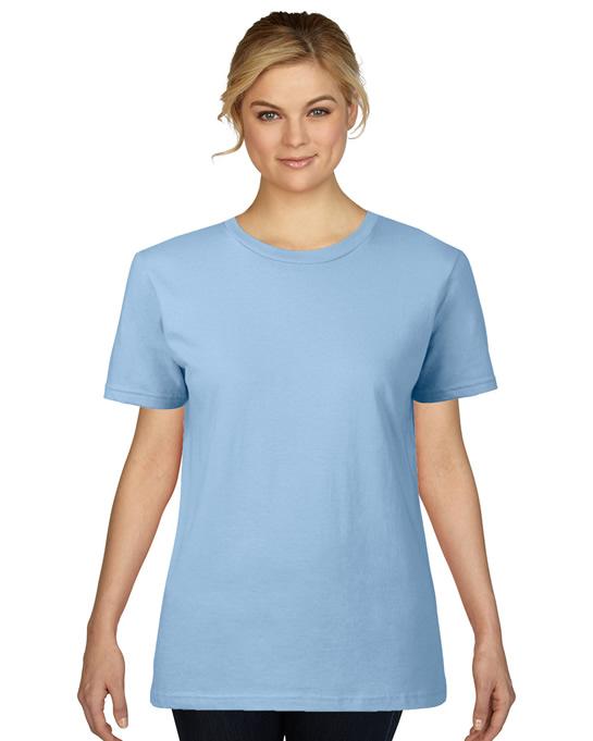 Koszulka Premium Cotton Ladies GILDAN L4100 - Gildan_L4100_06 - Kolor: Light blue