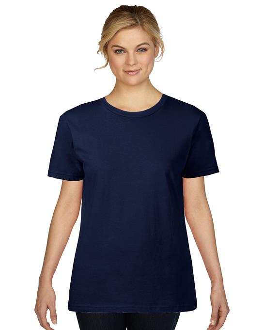 Koszulka Premium Cotton Ladies GILDAN L4100 - Gildan_L4100_07 - Kolor: Navy