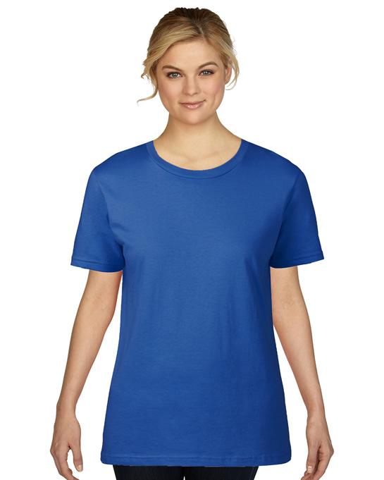 Koszulka Premium Cotton Ladies GILDAN L4100 - Gildan_L4100_09 - Kolor: Royal blue