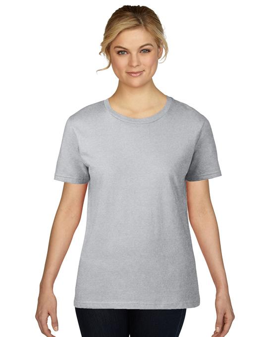 Koszulka Premium Cotton Ladies GILDAN L4100 - Gildan_L4100_10 - Kolor: Sport grey