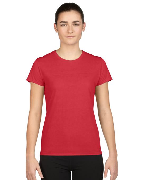 Koszulka Performance Ladies GILDAN L42000 - Gildan_L42000_06 - Kolor: Red