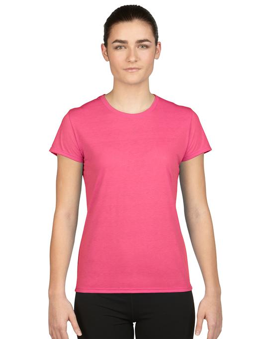 Koszulka Performance Ladies GILDAN L42000 - Gildan_L42000_09 - Kolor: Safety pink