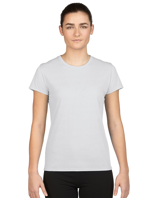 Koszulka Performance Ladies GILDAN L42000 - Gildan_L42000_11 - Kolor: White