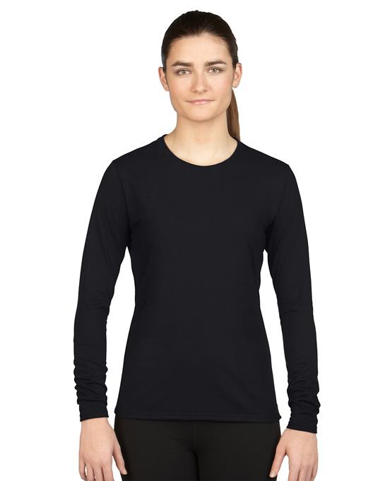 Koszulka Performance Long Sleeve Ladies GILDAN L42400 - Gildan_L42400_02 - Kolor: Black