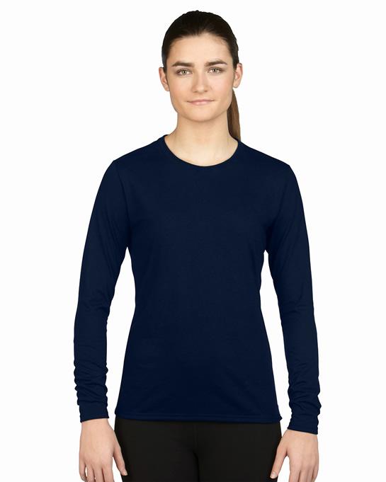 Koszulka Performance Long Sleeve Ladies GILDAN L42400 - Gildan_L42400_03 - Kolor: Navy