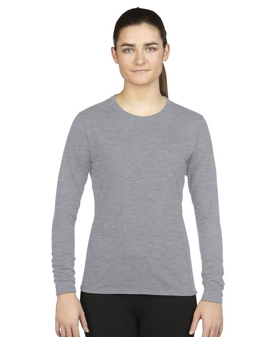 Koszulka Performance Long Sleeve Ladies GILDAN L42400 - Gildan_L42400_06 - Kolor: Sport grey