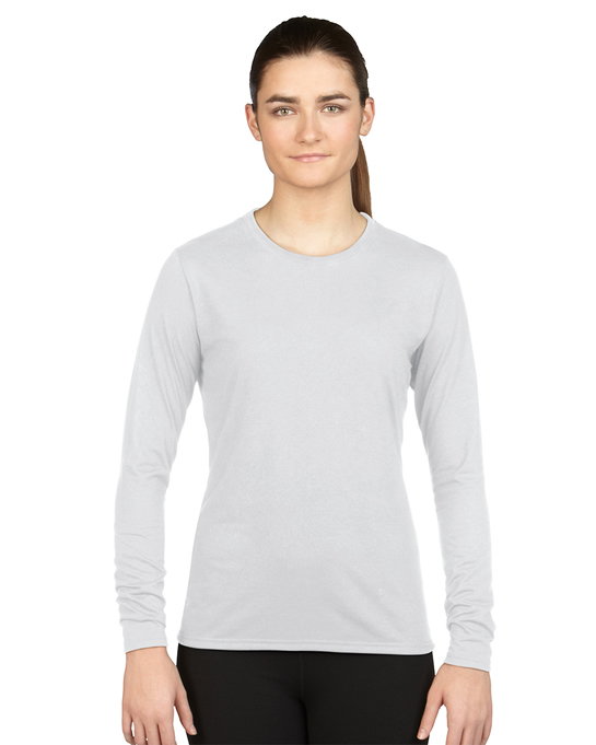 Koszulka Performance Long Sleeve Ladies GILDAN L42400 - Gildan_L42400_01 - Kolor: White