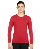 Koszulka Performance Long Sleeve Ladies GILDAN L42400 - Gildan_L42400_04 Red