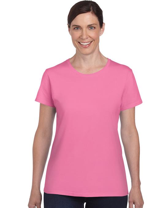 Koszulka Heavy Cotton Ladies GILDAN L5000 - Gildan_L5000_01 - Kolor: Azalea