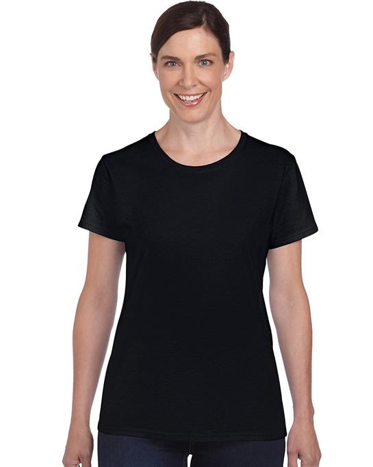 Koszulka Heavy Cotton Ladies GILDAN L5000 - Gildan_L5000_02 - Kolor: Black