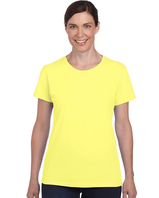 Koszulka Heavy Cotton Ladies GILDAN L5000 - Gildan_L5000_04 - Kolor: Cornsilk