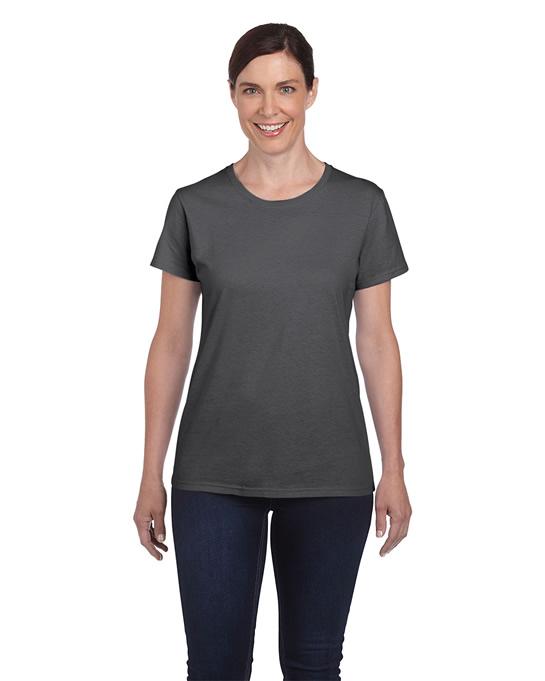 Koszulka Heavy Cotton Ladies GILDAN L5000 - Gildan_L5000_06 - Kolor: Dark heather